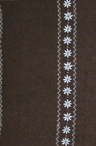 Old World Weavers Rosine II Fabric in Chocolat