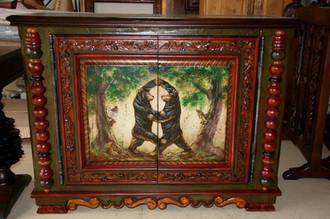 Ty Loyola Dancing Bear Cabinet