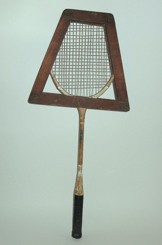 Old Badminton Racket and Stretcher