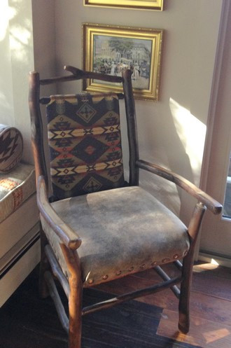 Upholstered Wilderness Chair