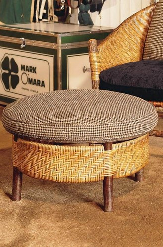 Hand-Crafted Captain's Ottoman