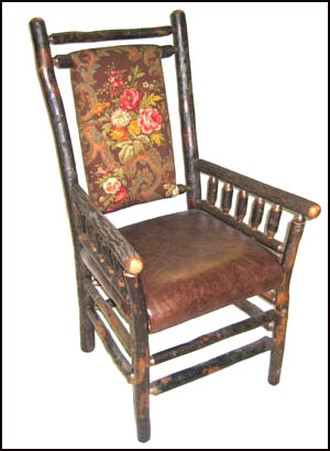 Gus Dining Chair With Arms (Painted finishes and fabric options available)