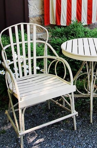 Bentwood Dining Chair (Also available in aluminum & many colors)