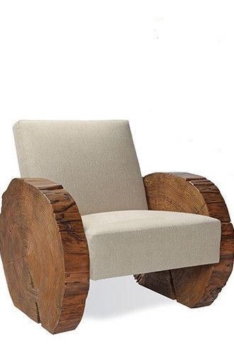 Deco Demi-Lune Lounge Chair