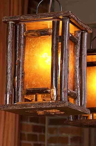 Hickory Lantern Pendant