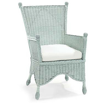 Eastern Shore Wicker Porch Chair (Many color options)