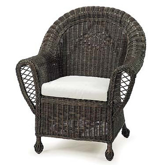 Cape Heirloom Chair In Wicker