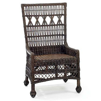 Martha's Vineyard Wicker Dining Chair