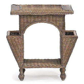 Eastern Shore Wicker Reading Table (Many color options)