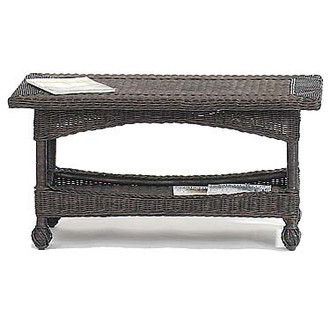 Blackwood Canyon Wicker Coffee Table