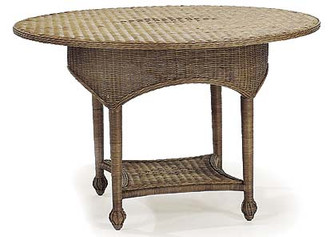 Martis Valley Wicker Dining Table