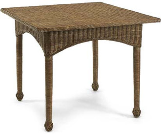 Eastern Shore Wicker Breakfast Table (Many color options)