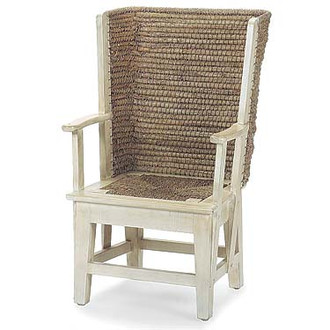 Orkney Warming & Dining Chair (Available in Antique White or Black)