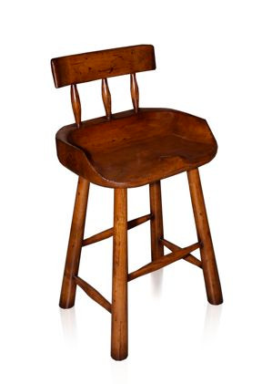 Cedar Flat Cabin Counter Stool