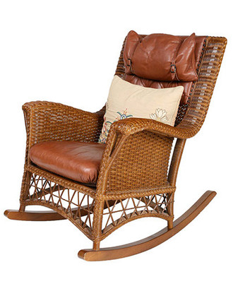 Montana Rocking Chair (Can add leather to order)