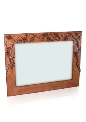 Carson Pass Hand-Carved Mirror
