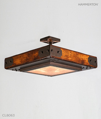 Hammerton Craftsman Ceiling Light
