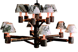 Rocky Mountain 12-Light Chandelier