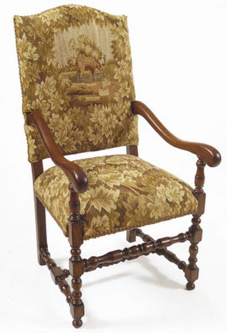 Stag Aubusson Dining Chair (Arm or Side)