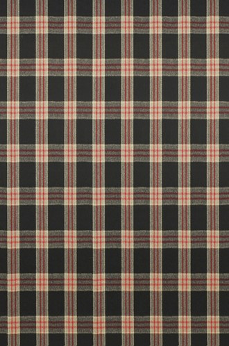 Refinery Plaid Fabric in Cinder (Ralph Lauren)