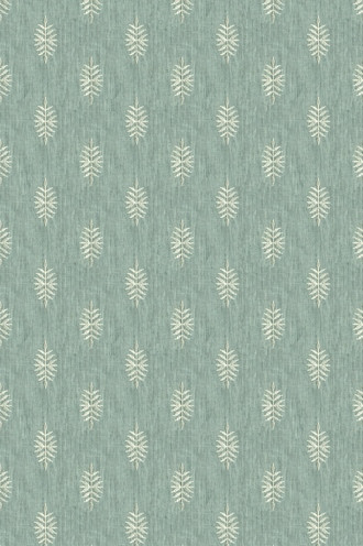 White Pine Linen Fabric in delft (Barbara Barry Chalet Collection)