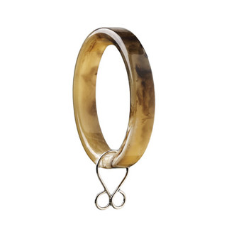 Horn Drapery Rings from Barbara Barry Chalet Collection