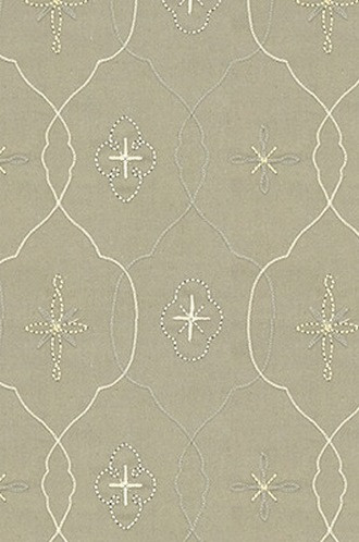 Dirndl Fabric in Snow Mist (Barbara Barry Chalet Collection)