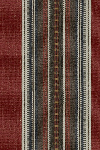 Handwork Fabric in Sun-dried Red (Nomad Chic by Kravet)