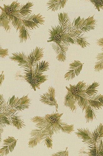 Idyllwild Fabric in Forest (Barbara Barry Chalet Collection)
