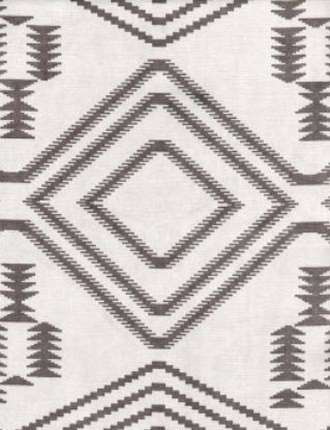 Navajo Fabric in Grey (By Andrew Martin in England)
