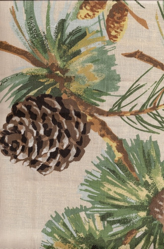 Evergreen Fabric in Cream (Grey Watkins)