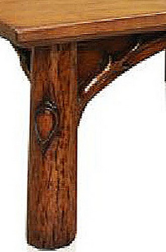 Shirley Coffee Table - Hand-Carved Bough & Twig