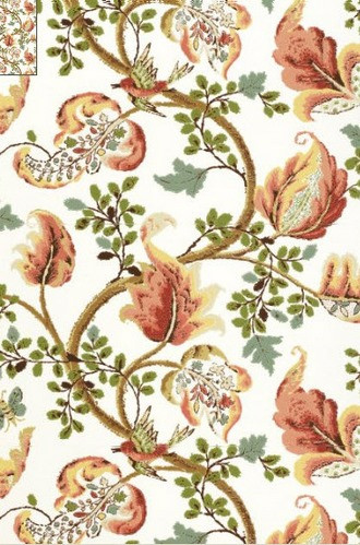 Fox Hollow Wallpaper in Ivory (Per Double Roll)