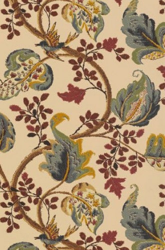 Fox Hollow Wallpaper in Document (Schumacher)