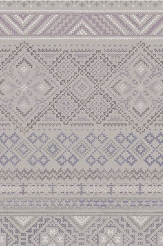 Fair Isle Wallpaper in Wildflower (Quercus & Co.)