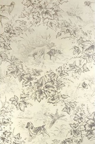 On-Point Hunting Dog Wallpaper in Fawn