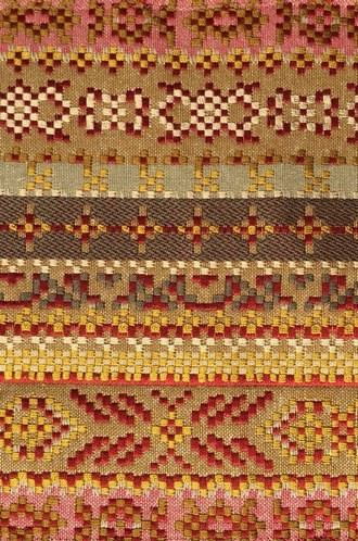 Pierre Frey Patiala Fabric in Ochre