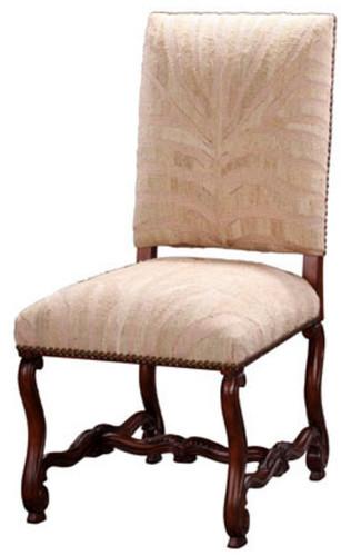 Silk & Cream Zebra Dining Chair (Arm or Side)