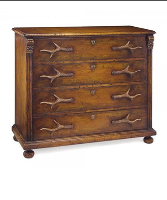 Four-drawer Antler Chest