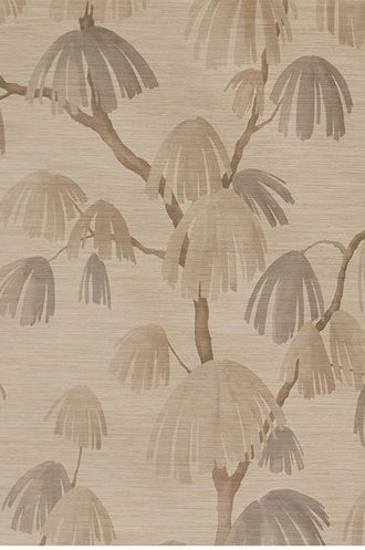 Weeping Pine Wallpaper in Barley