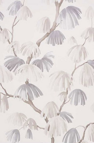 Weeping Pine Wallpaper in Neutral