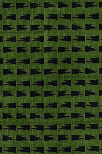 Tutsi Fabric in Green