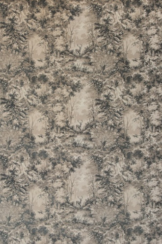 Torridon Velvet Fabric in Dove/Taupe