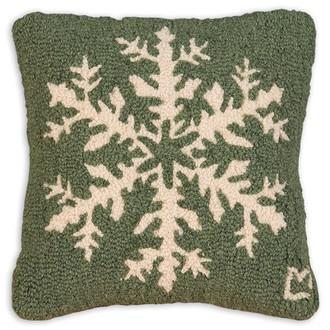 Pine Snowflake Pillow