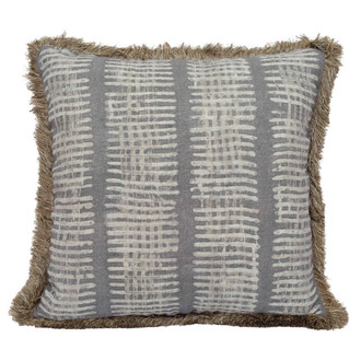 New Lines Pillow in Grey