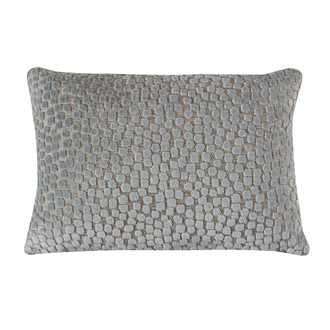 Flurries Pillow in Seaspray