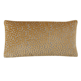 Flurries Pillow in Citrine