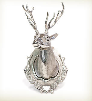 Lodge Deer Head With Antlers