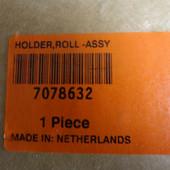 Oce 7078632 Universal paper holder, roller Assy. 9700, 9800, TDS800, TDS860, TDS860II.