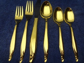 Oneida - 76 PCs - USA - new w/ sleeves - plus extra tea spoon